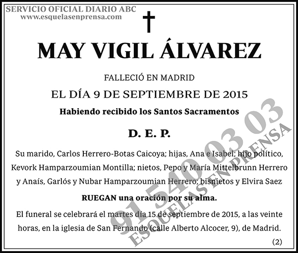 May Vigil Álvarez